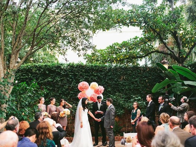 Brennan S Courtyard Wedding