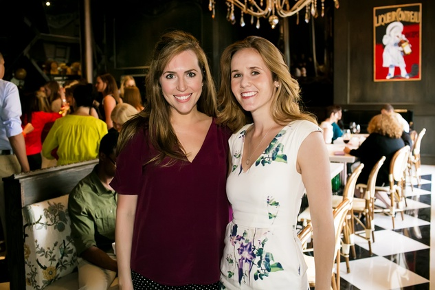 News, Shelby, Ballet Barre kick-off, August 2014, Mary Patton, Hannah Lonergan