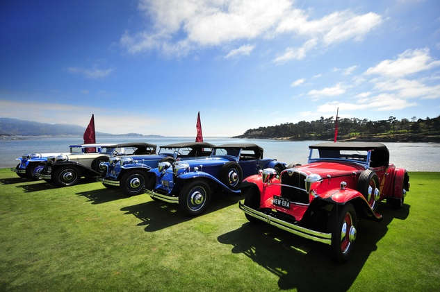 News, Shelby, Pebble Beach Concours d'Elegance, roadsters, August 2014