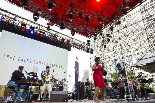 The Suffers at Free Press Summer Festival June 2013