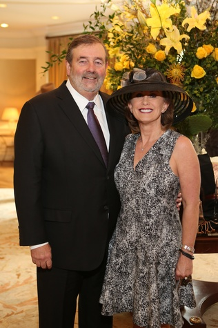 10 Robert and Sheila Partin at Hats Off to Mothers luncheon March 2015