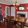 On the Market Renee Zellweger 1774 house in Connecticut September 2014 dining room