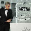 Omega Celebrates the 45th Anniversary of Apollo 13 Mission, May 2015, George Clooney