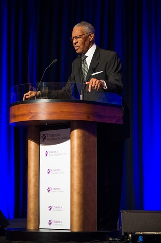 William 'Bill' Lawson at the CHRISTUS Foundation for HealthCare spring luncheon April 2015