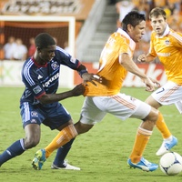 Dynamo vs. Chicago Fire, July 3, 2012, soccer, NAME, Brian Ching, NAME