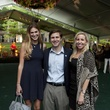 Lauren Baughman, from left, Carter Leggett and Lauren Roberge at Bayou Bend's Bubbly on the Bend April 2014