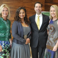 003, Texas Medal of Arts luncheon, January 2013, Kelli Blanton, Debbie Allen, Jim Nelson, Marita Fairbanks