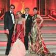 John Taylor, Gela Nash-Taylor, Nick Rhodes, Nefer Suvio at Louvre Gala June 2013
