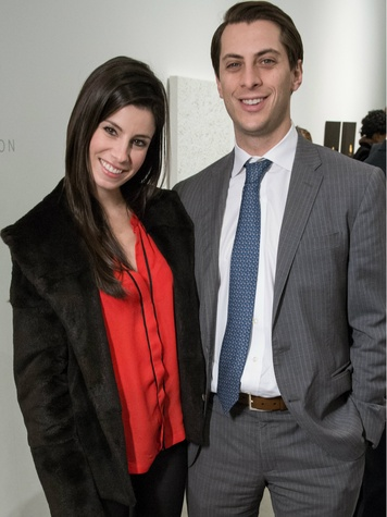 Laura Avila, Matt Cain, DMA Junior Associates Holiday Party