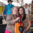 Regina Lewis, left, and Julie Longoria Chen at the Casa de Esperanzas Young Professional Chili Cook-off February 2014