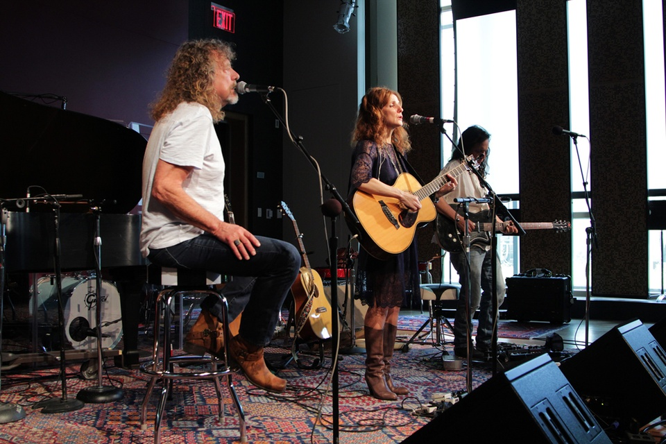 KUTX Studio 1A Patty G Robert Plant