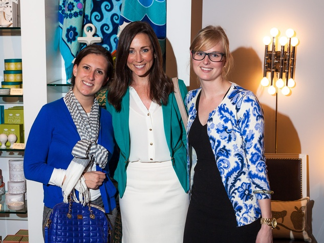 Jonathan Adler Houston April 2013 Kendall Monroe Katie Pryor Sarah Thornton