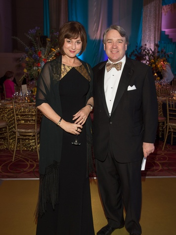 Leigh and Reggie Smith at the Houston Ballet Ball February 2014