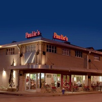 Paulie's restaurant Houston at night