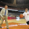MD Anderson Cancer Center_Dick Vitale_Chase Davidson_basketball