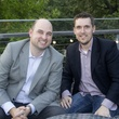 Jake Donaldson, left, and Keither Holley at the f.r.e.s.h. new young professionals group party june 2014