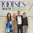 Samantha Stewart, Heather Anderson, Dustin Holcomb, Cathy Williamson, TOOTSIES Top Blogger