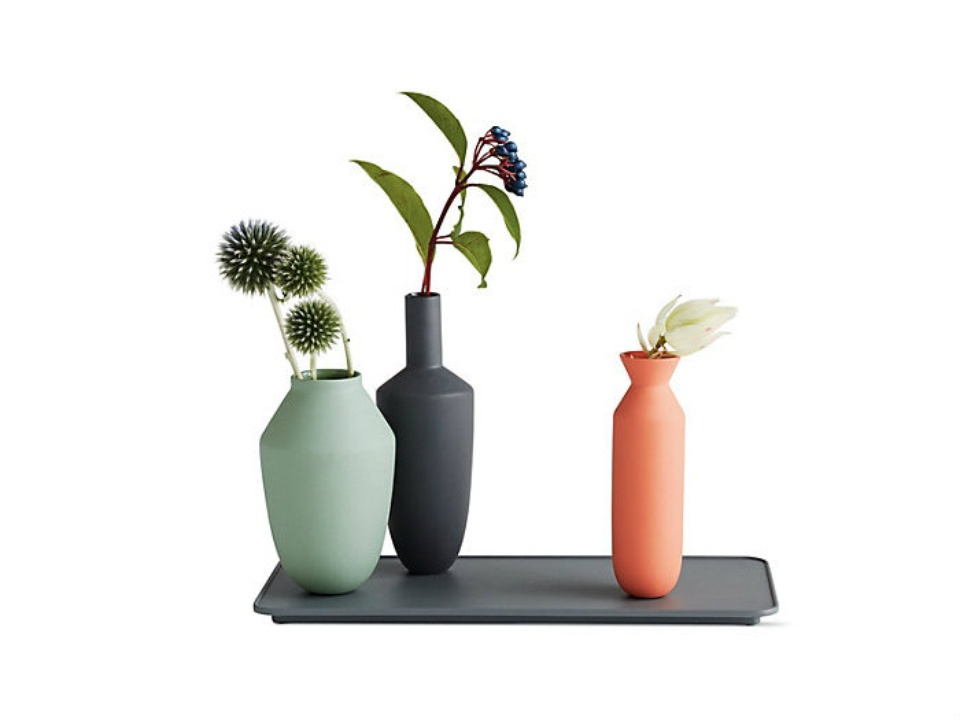 Balance four-piece vase set at Design Within Reach