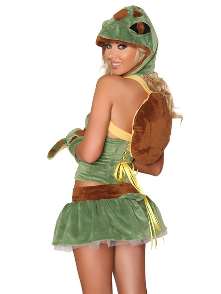 Halloween costumes, sexy sea turtle, October 2012