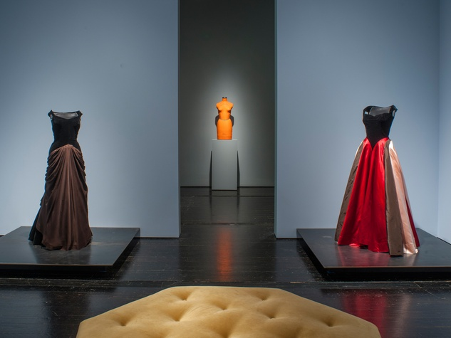 6110 Charles James exhibit at the Menil June 2014