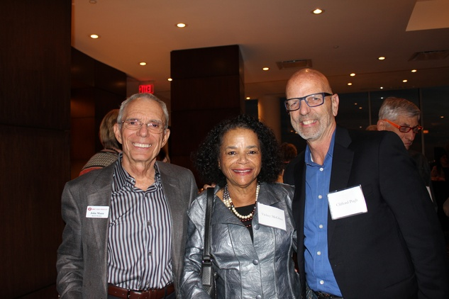 John Mann, left, Vicki McGhee and Clifford Pugh at the Jane's Due Process fundraiser February 2015