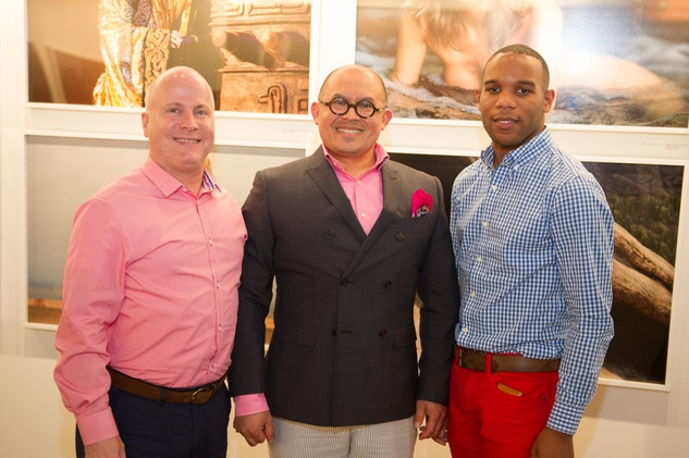 15 Scott Boyd, from left, Leo Jaimes and Patrick Bell at Spring Market May 2014