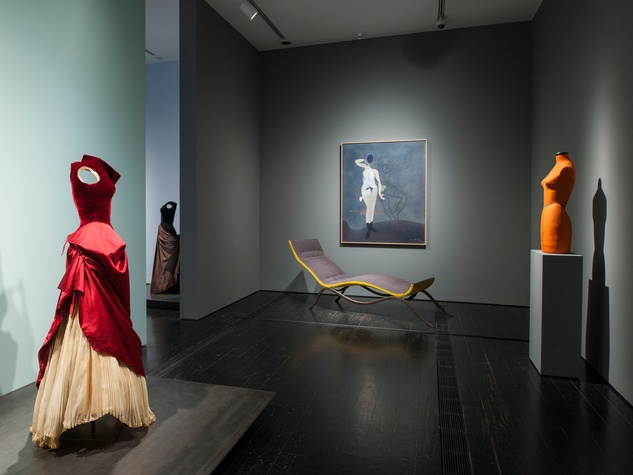 6093 Charles James exhibit at the Menil June 2014