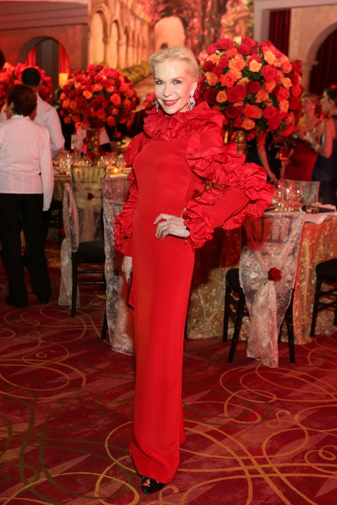 News, Shelby, HGO ball gowns, April 2015, Lynn Wyatt, Valentino