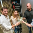 10 Thomas Freeman, from left, Carmen Martinez, Lynn Norris and Mitch Toom at the Crafted mixology contest at Mr. Peeples July 2014