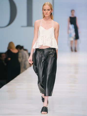 Look from Tibi at Fashion Houston Nov 2014