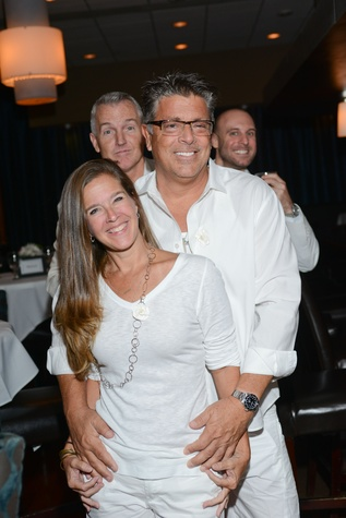 36 Felicia Tidwell and Jeff Fischer at the White Hot Summer Night Party at Eddie V's August 2014