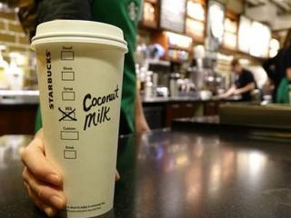 Starbucks coconut milk