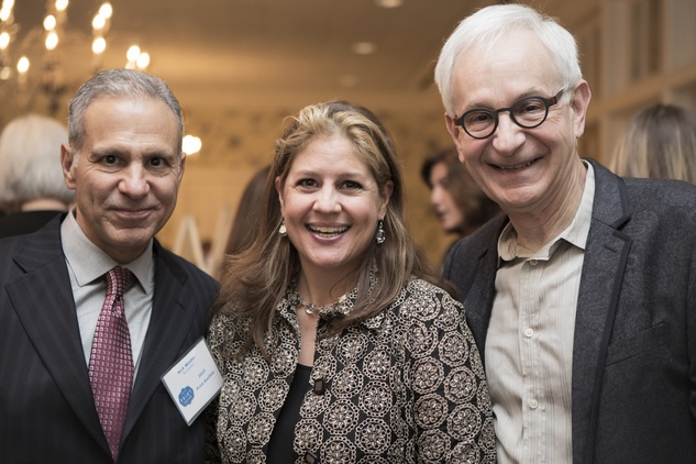 10 Rick Wester, from left, Libbie Masterson and Frazier King at the Houston Center for Photography Print Auction February 2015