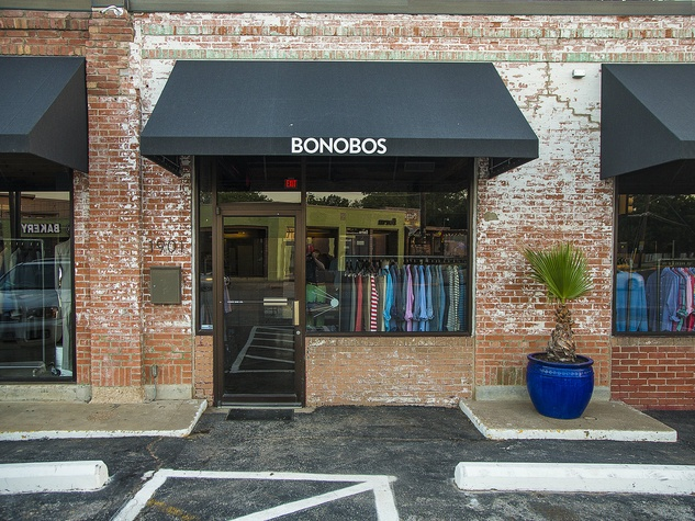 bonobos, guideshop, dallas