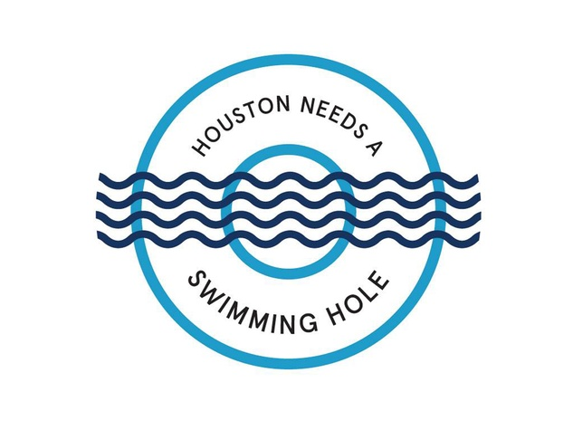 Houston Needs A Swimming Hole! logo November 2014