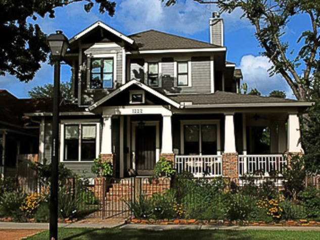 Heights holiday home tour gives houston a quirky historic for Craftsman home builders houston