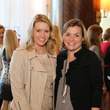 Jenna Junnell, left, and Sveta Darnell at the Angels of Hope luncheon December 2014