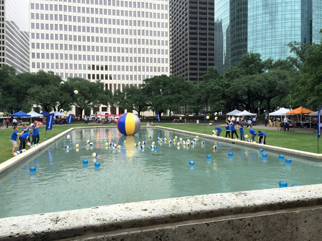 Houston, Southwest Airlines Beach Bash, May 2015, beach balls