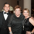 O'Niel Mendenhall, from left, Cindy Burns and Jan Mendenhall at The Women's Home Gala November 2014