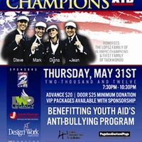 """A Night With Olympic Champions"" benefiting Youth Aid"