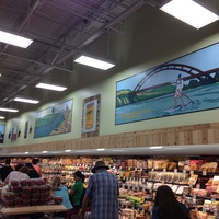 Produce lane at Trader Joe's Rollingwood Austin