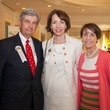 Jim Henderson, from left, Susie Distefano and Dr. Anette Edens at the DePelchin Children's Center luncheon April 2014