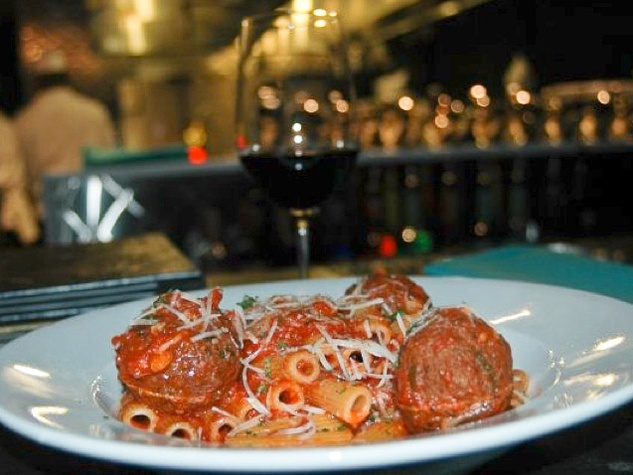 Places_Food_The Rockwood Room_Kobe meatballs_rigatoni