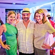 35 Stacy Andell, from left, Matt Harris and Leigh McBurnett at A Night in Havana July 2014