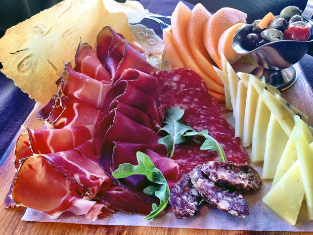 Arcodoro antipasta offerings