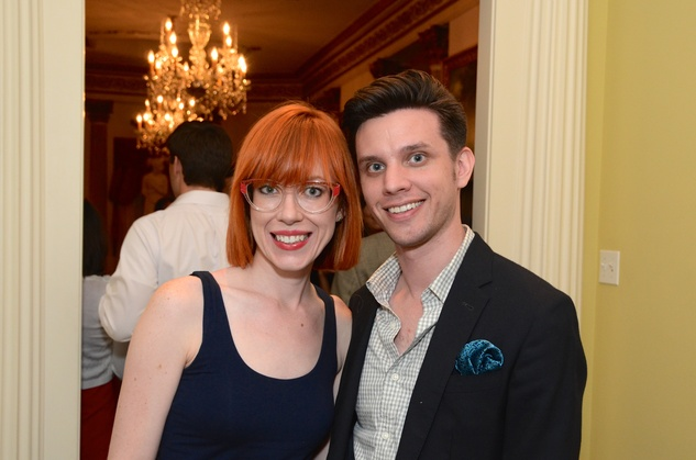 Emily and Judson Hermans at the Rienzi Punch Party October 2014