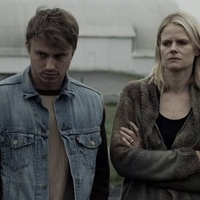 Still of Kenny Wormald & Joelle Carter in The Living