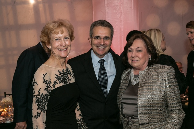 Susan Baker, from left, Dr. Ron DePinho and Rose Cullen at the M.D. Anderson Living Legend in Washington, D.C. November 2013