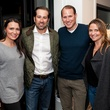 Kimberly Schlegel Whitman, Justin Whitman, Stephen Summers, Elisa Summers, James Perse opening, Highland Park Village