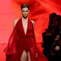 Fashion Week fall 2014 collections Donna Karan Model Karlie Kloss